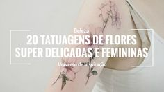 """As flores tem inúmeros significados, sendo todos eles positivos. Acredito que é por isso que elas são muito usadas como presente à pessoas queridas e também na decoração de um ambiente ou evento, já que ela inspira vida e cor ao local. Nunca fui muito fã de plantas, conheço pouquíssimas espécies e confesso que nunca...Continue a ler """"20 tatuagens de flores super delicadas e femininas"""" →"""