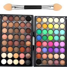 Fashion 40 color Eye Shadow Matte Eyeshadow pallete Waterproof long lasting Bronzer Naked Palette Eye kyshadow maquiagem BS623