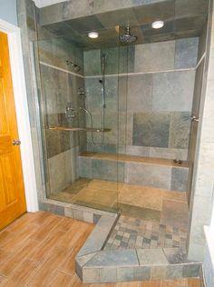 Destin Beach Rentals | Shower in unit 301| Places To Stay In Destin, FL