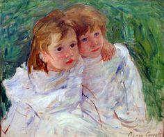 The Young Girls – Mary Cassatt by David Alexander Elder, via Flickr