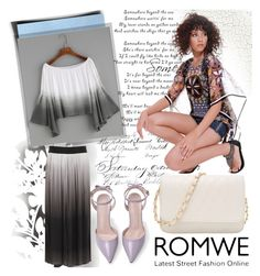 """Romwe top"" by irinavsl ❤ liked on Polyvore featuring Élitis"