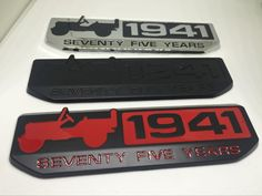 1 PCS 3D metal 1941 badge emblem Decal car stickers For Jeep Wrangler Cherokee Renegade Compass Car Auto Sticker Car Styling