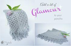 Romantic Poncho Crochet Mandala Pattern, Crochet Poncho, Free Crochet, Crochet Patterns, Yarn Projects, Glamour, Romantic, Blog, Crocheting
