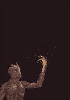 We Are Groot- Guardians of the Galaxy Fan Art (37406051) - Fanpop