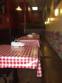 Interior view of the restaurant, Aioli Seafood Restauran, Parksville, BC