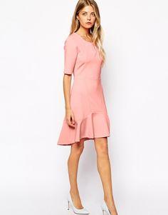 Enlarge Vila Scuba Flare Dress   V-day dress option and on sale! #ASOS