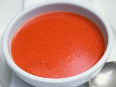 ντοματόσουπα-απλή