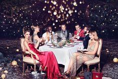 Go Behind the Scenes of Tom van Schelven's Molton Brown Christmas 2014 Campaign Shoot