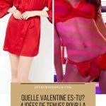 4 styles  de tenues pour fêter la Saint Valentin