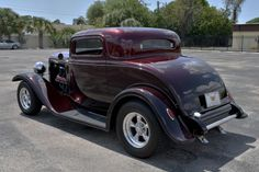 custom hot rod designs | 1932 FORD 3 WINDOW COUPE POWERED BY A LATE MODEL HEMI