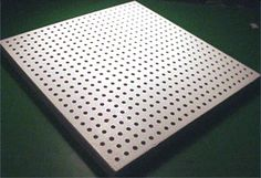 Classic Wood Fiber Perforated Acoustical Ceiling Tiles   Silent Source