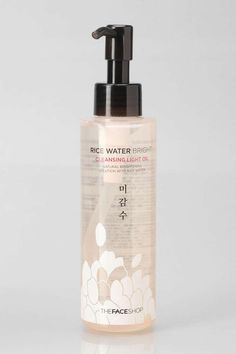 The Face Shop Rice Water Bright Cleansing Light Oil, $18