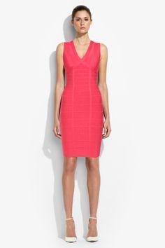 2014 Beautiful Herve Leger Madison Signature Bandage Dress $160.41
