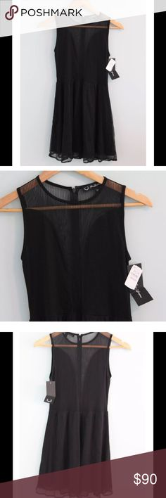 For Love and Lemons Brand,super cute dress Size Medium Super sexy little black dress. Shear down front and all back.Zipper down back, skirt is lined.brand new For Love and Lemons Dresses Mini