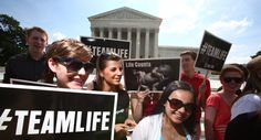 """The Supreme Court on Thursday unanimously struck down a Massachusetts law that restricted speech outside abortion facilities, a decision that abortion-rights advocates decried as a threat to patient safety at clinics nationwide. The court said the state law violated the First Amendment because its """"buffer zone"""" limited speech too broadly, covering 35 feet from the doorway of facilities and including public areas like sidewalks."""