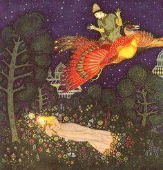 The Firebird, Edmund Dulac