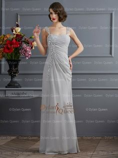 Prom Dress Beautiful, Stylish Trumpet/Mermaid Sleeveless Beading Straps Long Chiffon Dresses Discover your dream prom dress. Our collection features affordable prom dresses, chiffon prom gowns, sexy formal gowns and more. Find your 2020 prom dress Ombre Prom Dresses, Classy Prom Dresses, Princess Prom Dresses, Fitted Prom Dresses, Affordable Prom Dresses, High Low Prom Dresses, Prom Dresses For Teens, Wedding Dresses For Girls, Unique Prom Dresses