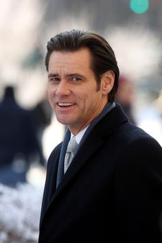 """Jim Carrey Photos Photos: Jim Carrey and Ophelia Lovibond on Set James Eugene """"Jim"""" Carrey. Canadian actor and comedian. He has received two Golden Globe Awards. cousin once removed on birthmother's maternal line. The Truman Show, Ophelia Lovibond, Jim Carrey, Canadian Men, Birth Mother, Stand Up Comedy, Hollywood Actor, Bad Timing, Celebs"""