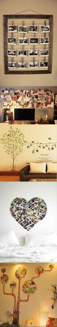 Arrange Your Pictures Like This. Make This DIY And Share With Us