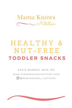Grab this toddler approved list of nut-free snacks.I put together this snack guide with my top recommendations for nut-free bars, cookies, crackers, and chips. Healthy Snack Bars, Healthy Toddler Snacks, Healthy Snack Options, Healthy Meals For Kids, Kids Meals, Toddler Nutrition, Healthy Nutrition, Nutrition Tips, Nut Free Snacks