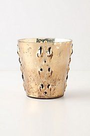 Silvered Votive, Diamonds