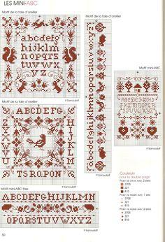 Gallery.ru / Фото #30 - De fil en Aiguille Carnet de Broderie 6-09 - Labadee