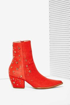 Kate Bosworth x Matisse Starry-Eyed Leather Boot | Shop Shoes at Nasty Gal!