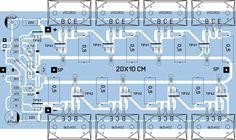 Class B audio amplifier - 2500W