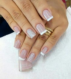 New nails colors classy elegant 68 Ideas French Nails, Nail Manicure, Toe Nails, New Nail Colors, Nagel Hacks, Nagellack Trends, Classy Nails, Glamour Nails, Square Nails