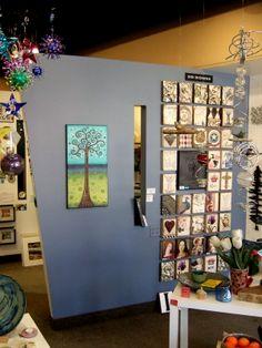 Sid Dickens Memory Block display at Gift of Art in London, Ontario, Canada. #giftofart #richmondrowlondon
