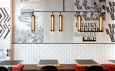 Identite graphique pour un restaurant de burgers