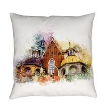 Wawel Art Cracow Everyday Pillow