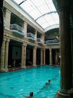 Visiting the Thermal Baths in Budapest