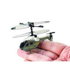 L'elicottero radiocomandato più piccolo al mondo.
