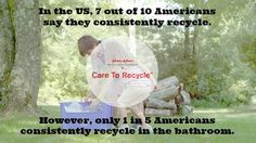"""""""Care To Recycle"""" - One Room That Often Gets Overlooked #spon"""