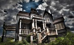 Experience a night of horrific proportions at one of Bucks County's terrifying haunted hayrides and attractions. This spooky photo is of House in the Hollow in Newtown. Take a tour...if you dare.