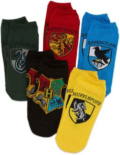 If your boy is a die-hard Harry Potter fan these cute and adorable low-cut Harry Potter socks will instantly appeal to him. Getting him to wear these socks won't be a problem, getting him to take them off will! low-cut socks polyester/nylon/spandex washable imported package of 5 pair #affiliate