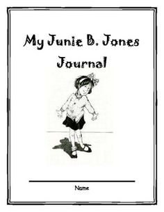 This is a cover that can be used with the Junie B. Jones Reading Reflection Journal. This can help students to organize their reading thoughts before, during, and after reading each chapter. Reading Club, Reading Centers, Kids Reading, First Grade Reading Books, First Grade Writing, Primary Teaching, Teaching Aids, Barbara Park, Junie B Jones