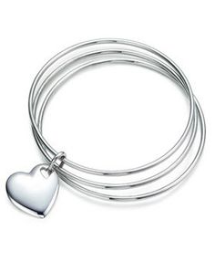 Tiffany  Co Outlet Two Hearts Triple Bangle