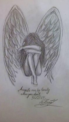draw - zeichnen - to draw draw- draw - zeichnen - to draw draw Broken Angel Drawing Pic Gallery Broken Angel Drawing Pic Drawings Art Sketch (notitle) Girl Drawing Sketches, Sad Drawings, Dark Art Drawings, Pencil Art Drawings, Drawing Ideas, Drawing Drawing, Good Sketches, Drawings Of Angels, Easy Sketches To Draw