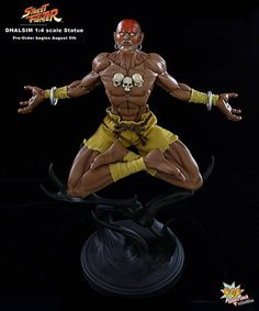 [POP CULTURE SHOCK] Street Fighter: Dhalsim Statue  -1ne-stop  Channel 4the comic lover & Major League Gamer. Send your cool gaming clips to Quotasgtx@gmail.com #QUOTASGTX:FB IG TW TWITCH YOUTUBE