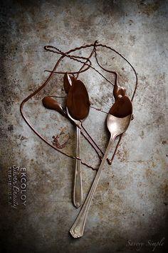 Cucchiai e cioccolata