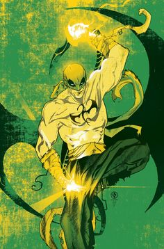 The Comic Ninja - league-of-extraordinarycomics: Iron Fist by Leo. Marvel Comics Art, Marvel Heroes, Captain Marvel, Marvel Avengers, Marvel Comic Character, Marvel Characters, Psylocke, Luke Cage, Marvel Universe