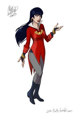 Fully Clothed Female Superheroes - Geek Art - Vampirella