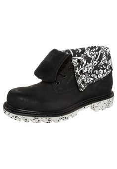 COLORADO ROLL DOWN WALALA - Lace-up boots - black