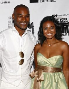 "Tatyana Ali and model Tyson Beckford both were in attendance for the 9th annual New York International Latino Film Festival ""Hotel California"" premiere on Friday evening at Fordham University. Description from mediaoutrage.wordpress.com. I searched for this on bing.com/images"