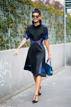 Gio setting the pace in CDG. Girl can't help it. #GiovannaBattaglia