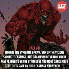 Toxin the best symbiote Marvel Venom, Marvel Villains, Marvel Vs, Marvel Dc Comics, Toxin Marvel, Comic Book Characters, Comic Character, Comic Books Art, Marvel Facts