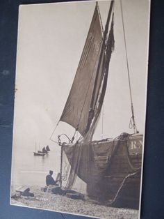Judges R/Photo/Pc # 1088, The Mizzen Sailing Vessal, Posted from Charmouth   eBay