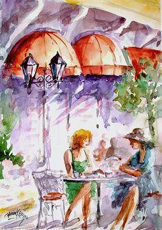 Tea Time by Faruk Koksal